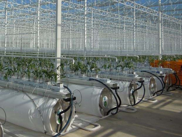 Energy Climate Optimised greenhouse - Gakon Horticultural Projects - Proyectos de construcción de invernaderos llave en mano