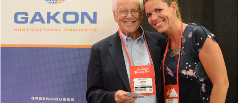 With 81 years of experience, Arie Boot of Gakon is probably the most experienced man in U.S. greenhouse construction.